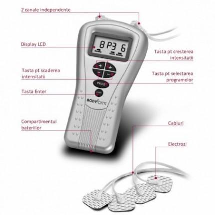 Aparat de masaj electrostimulator Laica Bodyform BM4700