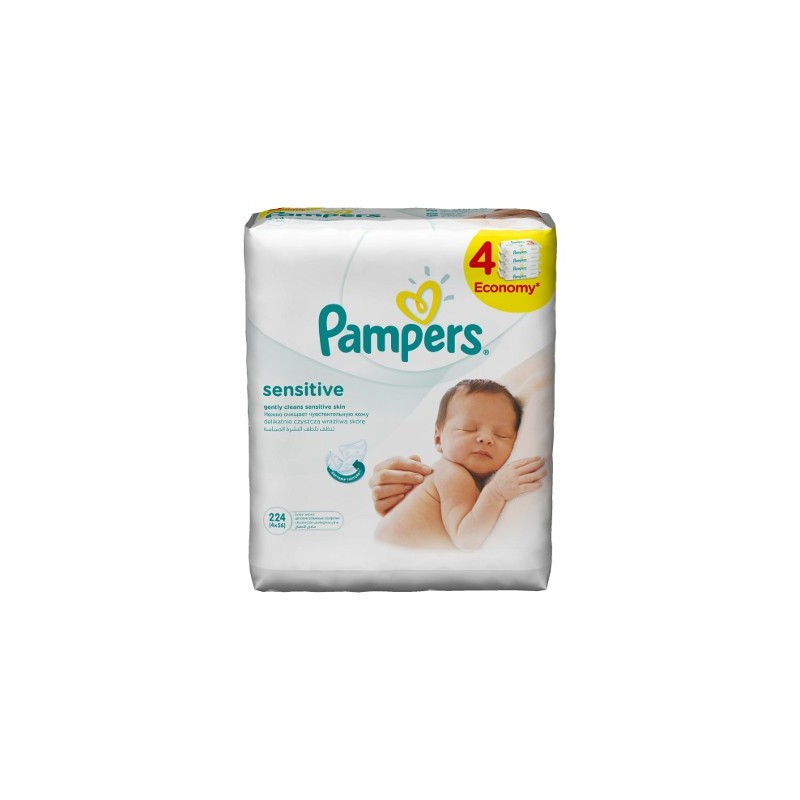 Servetele umede Sensitive Pampers 4x56 buc