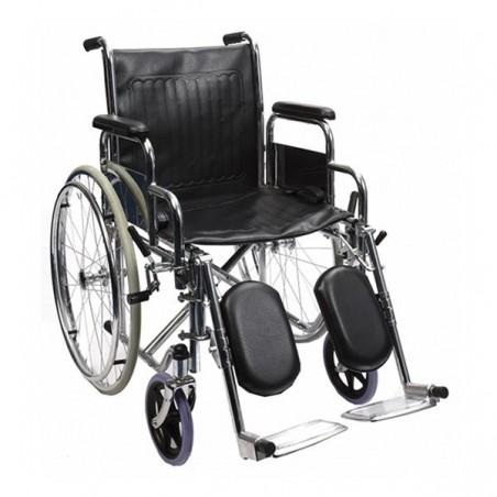 Scaun cu rotile cu suport de picioare reglabil RX902