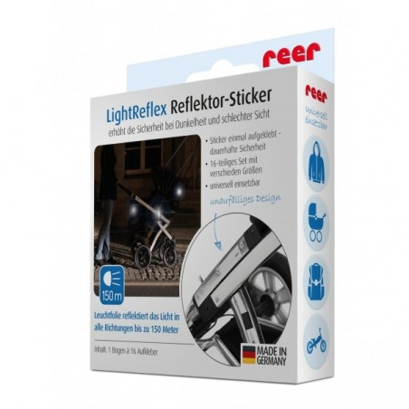 Banda reflectorizanta autoadeziva LightReflex REER 16 buc