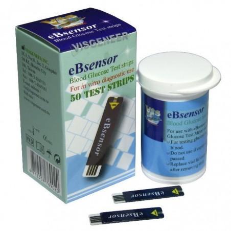 Teste de glicemie pentru glucometru Bsensor 50buc