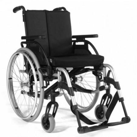 Scaun cu rotile din aluminiu persoane active RubiX2