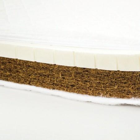 Saltea cocos latex Confort 120x60x10 cm
