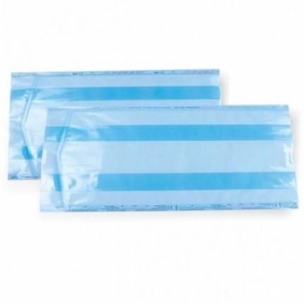 Pungi de sterilizare adezive cu pliu BOM 20x40x5 cm 100 buc