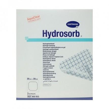 Pansament cu hidrogel Hydrosorb 20x20cm 3buc Hartmann