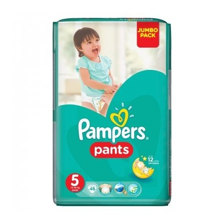 Chiloti Pampers Active Baby Pants 5 (12- 18 kg) 48 buc