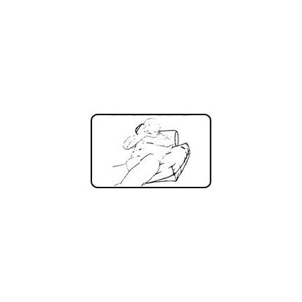 Perna de sprijin pentru corp Gyopar N7K 12x36x76 cm