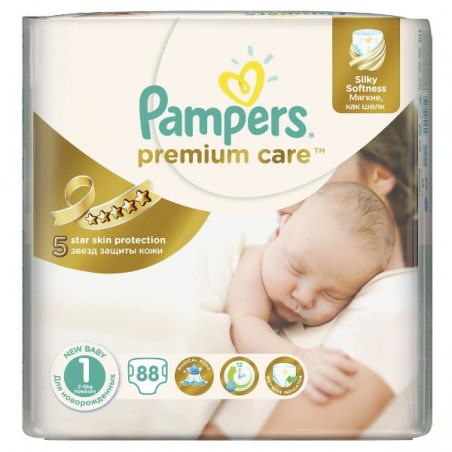 Scutece Pampers Premium Care Nr 1 88buc 2-5kg