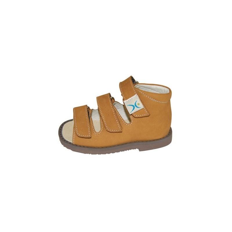 Sandale ortopedice din piele pentru copii VL-SP009