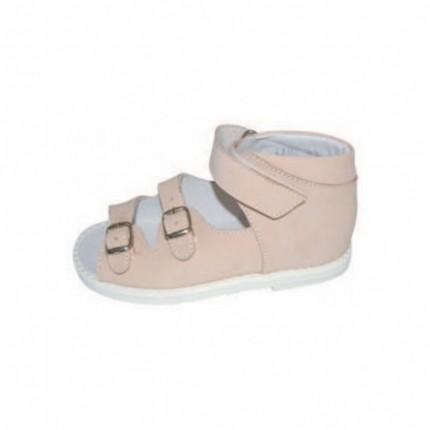 Sandale ortopedice din piele pentru copii VL-SP012