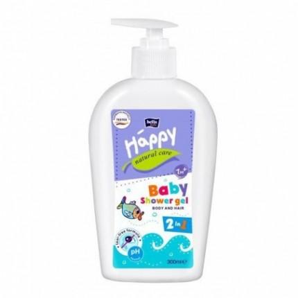 Gel de dus Bella Baby Happy Natural Care 300 ml