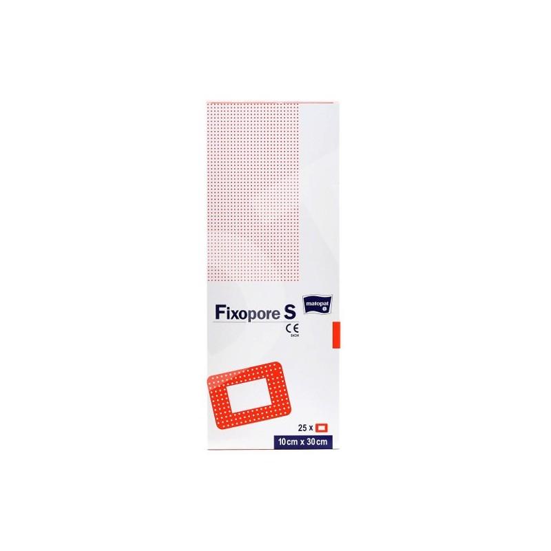 Pansament steril autoadeziv 30x10 cm Fixopore S 25 buc