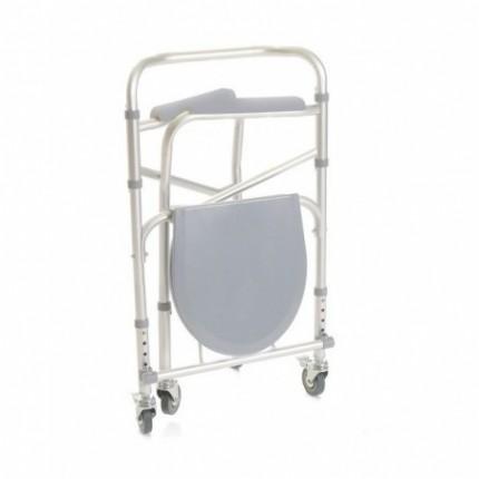 Scaun WC de camera 4 in 1 pliabil cu roti Moretti MRP782