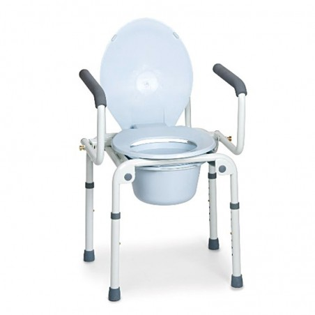 Scaun WC de camera 4 in 1 cu manere Moretti MRP783
