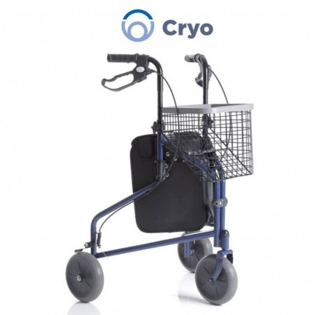 Rolator cu 3 roti si cos de cumparaturi RP685B CRYO