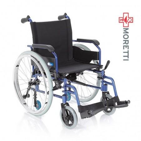 Carucior pentru transport pacienti cadru din aluminiu MCP740 Helios