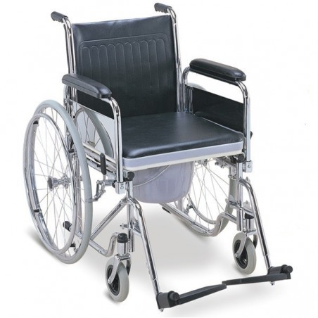 Carucior tip scaun WC cu roti Foshan FS681