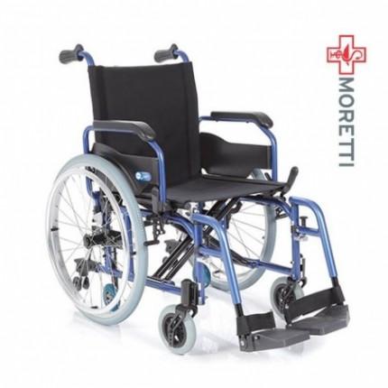 Carucior transport pacienti aluminiu antrenare manuala 135 kg MCP750 Helios