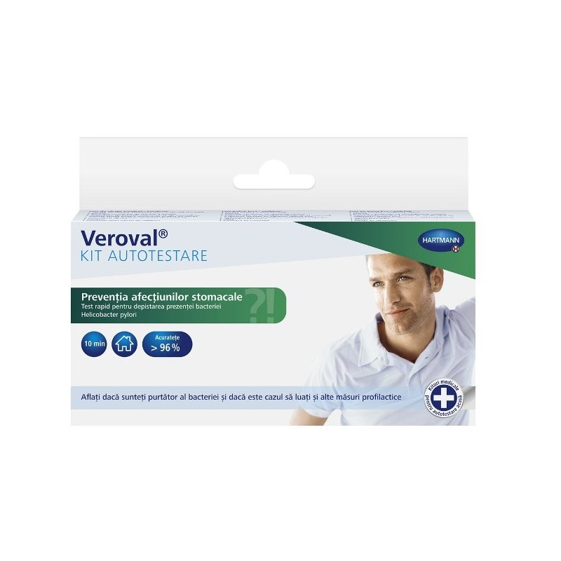 Veroval Kit autotestare afectiuni stomacale Helicobacter pylori