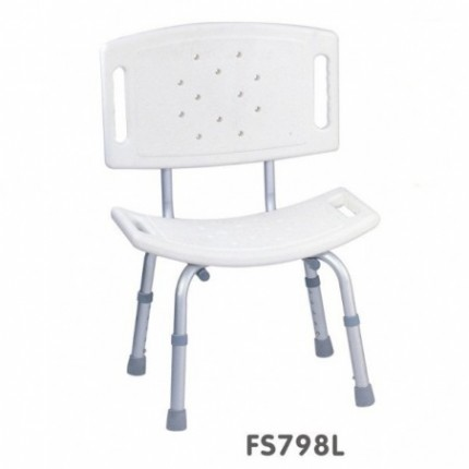 Scaun de baie sau dus dreptunghiular cu spatar Foshan FS798L