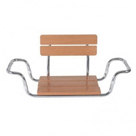 Scaun ajustabil din lemn cu spatar pentru cada RS922 Moretti
