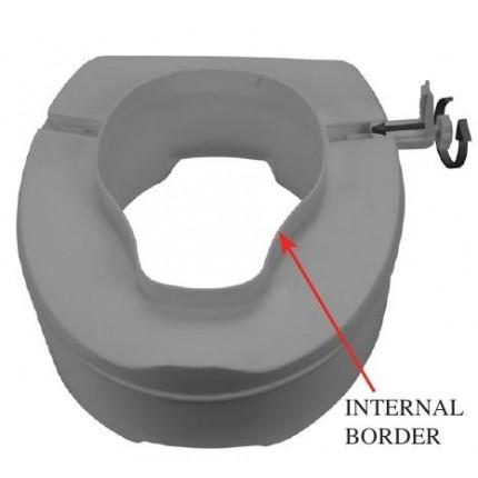 Inaltator WC de 10 cm cu capac Moretti MRP410