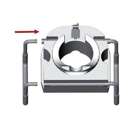 Inaltator wc cu inaltime de 13 cm cu manere Moretti MRP420
