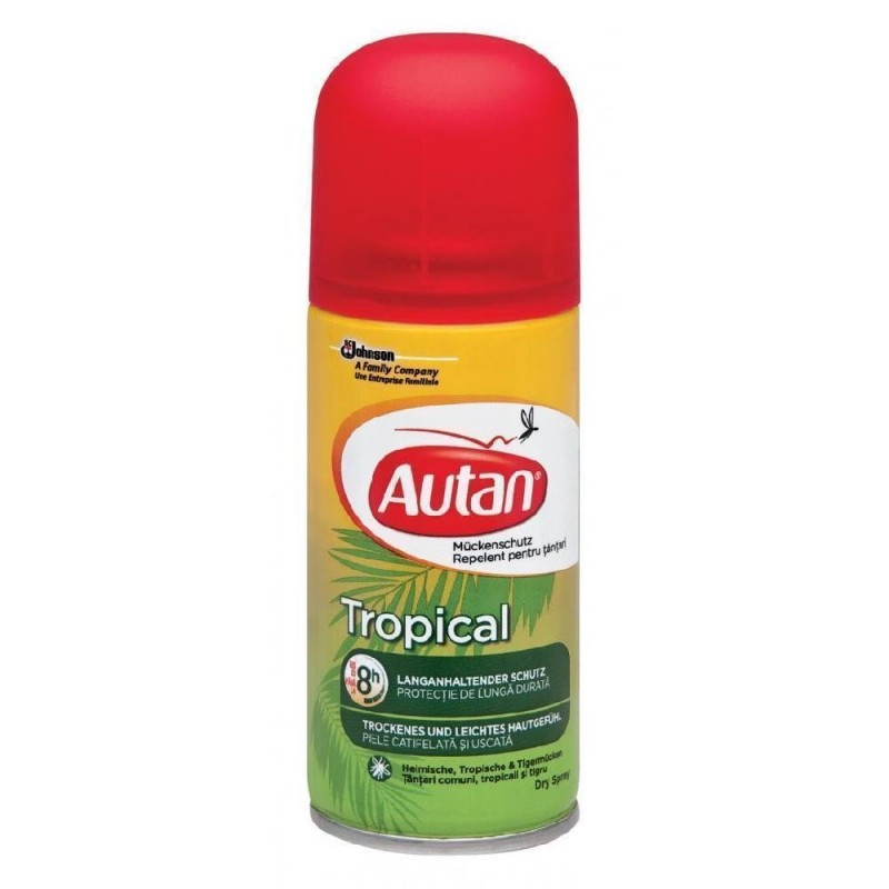 Autan Tropical Spray antitantari 100 ml