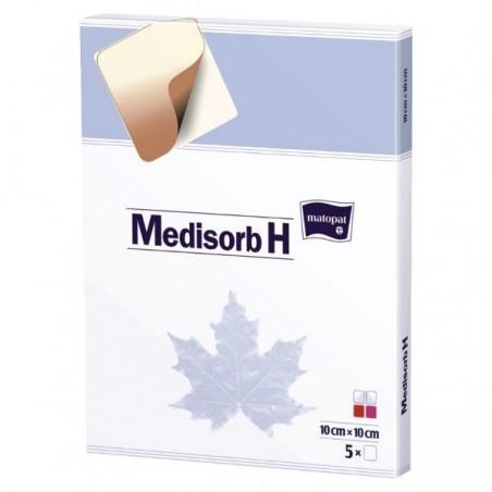Medisorb H pansament cu hidrocoloid 10x10 cm 5 buc