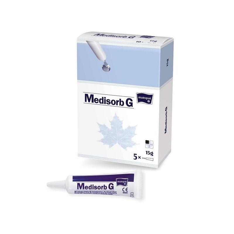 Medisorb G pansament tip hidrogel 5 tuburi x15g