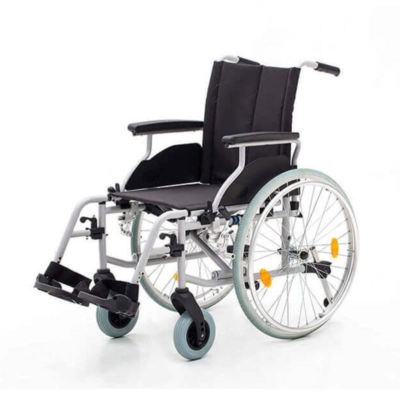 Carucior cu rotile transport pacienti cadru din aluminiu YJ-AL001