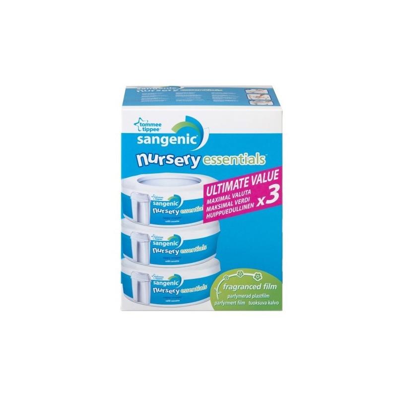 Rezerve Sangenic Nursery Essentials Tommee Tippee 3 buc
