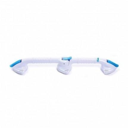 Maner de siguranta liniar/unghiular pentru baie cu ventuza din ABS RS975-63cm