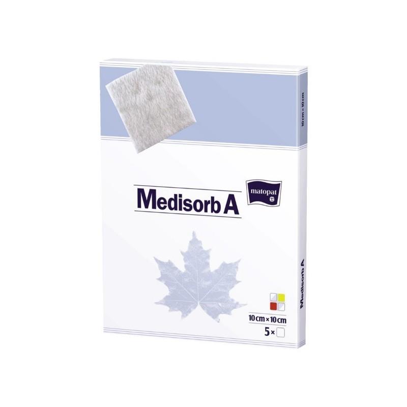 Medisorb A pansament steril cu alginat de calciu 10x10 cm 5 buc
