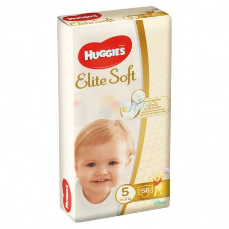 Scutece Huggies Elite Soft Nr 5 (56 buc) 12-22 kg