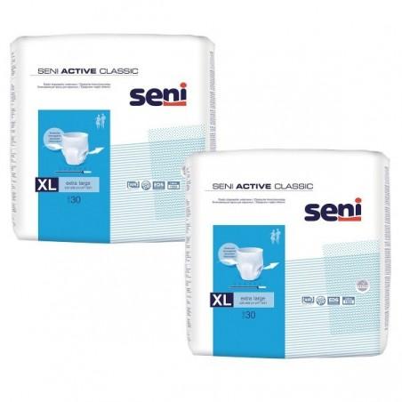 Pachet Chilot Seni Active Classic Extra Large Nr 4 2x30 buc
