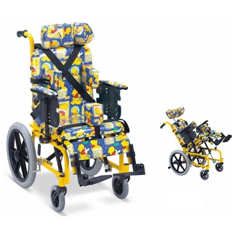 Carucior cu rotile multipozabil transport copii FS985LBGY