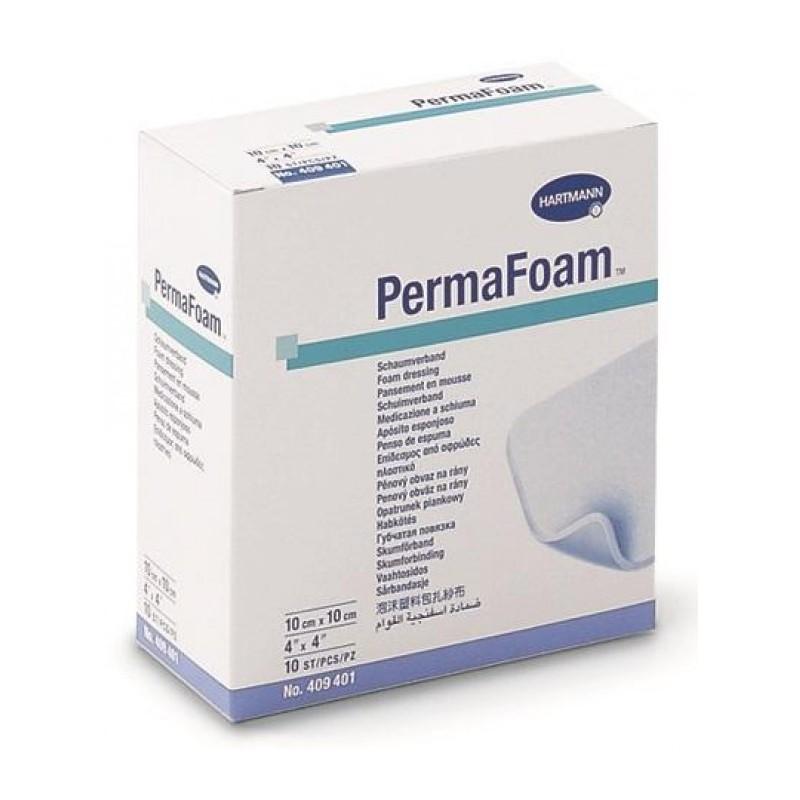 Hartmann Permafoam Pansament din spuma poliuretanica 10x10cm 10 buc