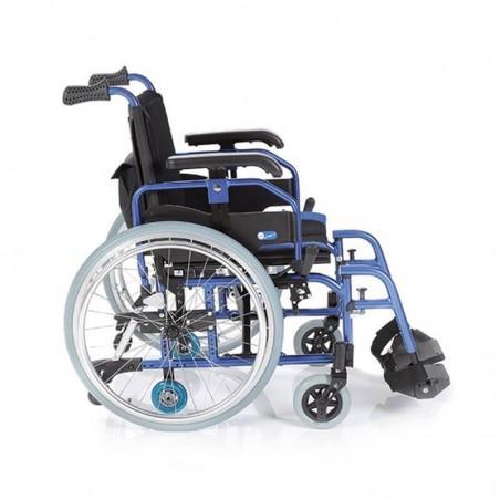 Carucior cu rotile pliabil din aluminiu actionare manuala CP760 Helios 2