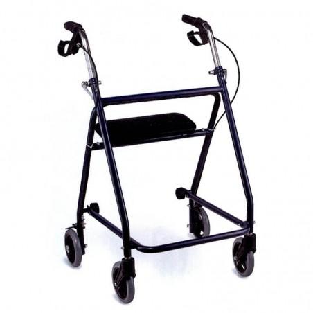 Rolator pliabil cu 4 roti frana si scaun Foshan FS9621