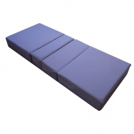 Saltea medicala piele eco 4 sectiuni pentru paturi de spital 200x85x10cm