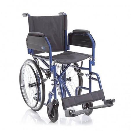 Carucior cu rotile pliabil transport pacienti actionare manuala CP620...