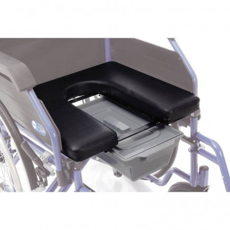 Sezut rigid pentru carucioare WC - CPA110-45