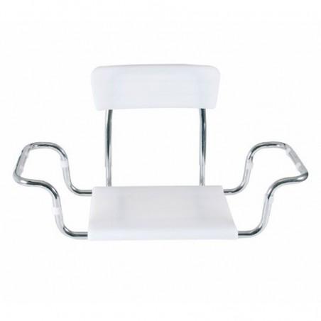 Scaun din plastic cu spatar pentru cada RS925