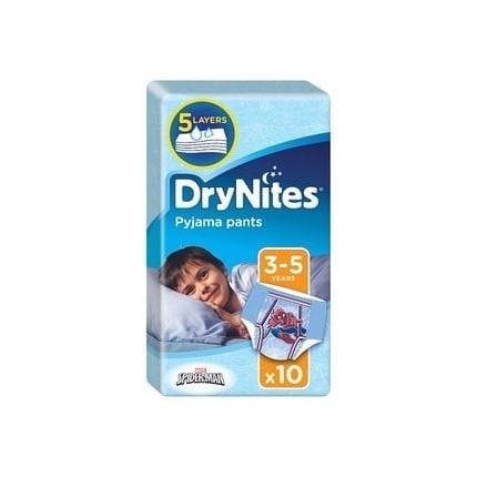 Huggies DryNites Chiloti absorbanti de unica folosinta pentru noapte baieti 3 -5 ani