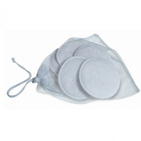 Tampoane lavabile san+saculet spalare 6buc Avent