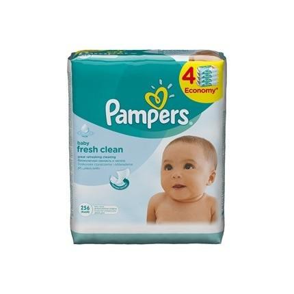 Servetele umede Pampers Baby Fresh 4x64 buc