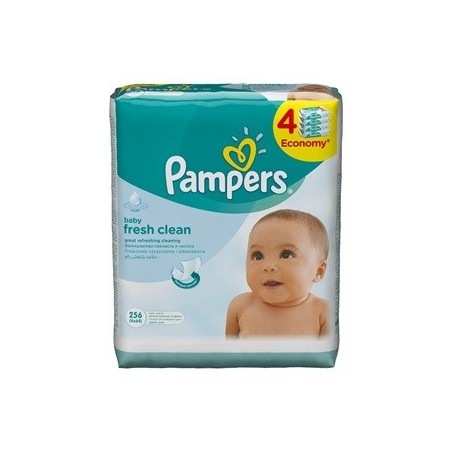 Servetele umede Pampers Baby Fresh 4x64 buc
