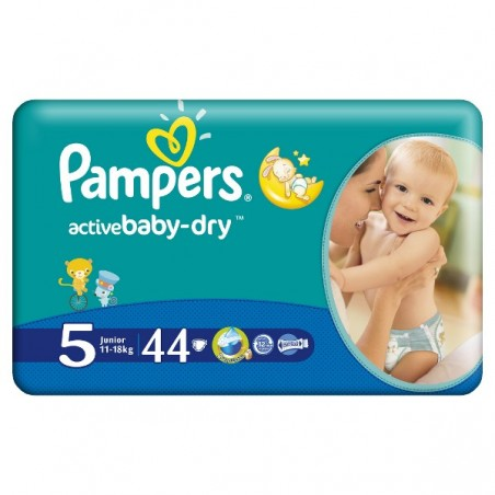 Scutece Pampers Active Baby Junior Nr 5 44buc