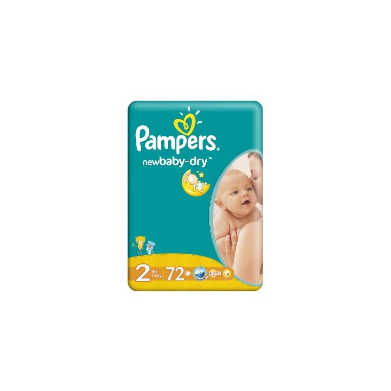 Scutece Pampers New Baby Mini Nr 2 72buc